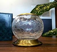 Стаканчик настольный для зубных щеток стекло-бронза Kugu Freestand 650A, фото 1