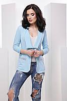 Стильный женский пиджак карманами 7043/1, фото 1