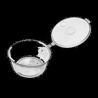 Соусник прозрачный с крышкой, 30мл, 80шт/уп
