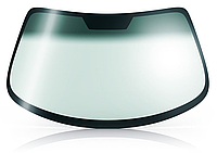 Лобовое стекло Mazda 2 зеленое  датчик (света и/или дождя) VIN молдинг, крепление зеркала 5183AGNMVW