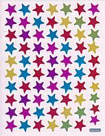 Набор наклеек для оценок 10 листов Звезды