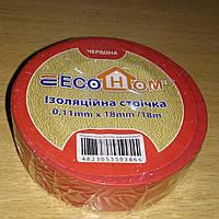Ізострічка ECO  0,11мм*18мм/18м червона / ECO 0,11мм*18мм/18м красная