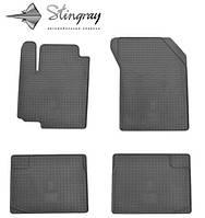 Коврики  в машину Fiat Sedici 06 (Фиат) (2 шт) передние, Stingray