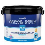 ACRYL-PUTZ FINISH финишная акриловая шпатлевка 17кг