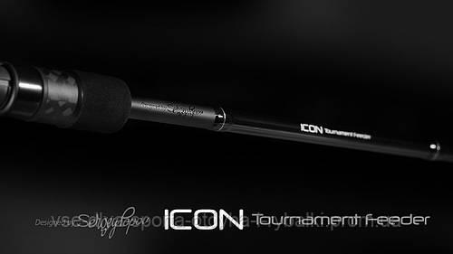 Удилище фидерное ZEMEX ICON Tournament Feeder 12.6 ft - 90 g