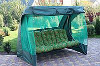 Садовые качели РИО GreenGard 4 вида подушек