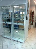 Торговые витрины для магазинов на заказ