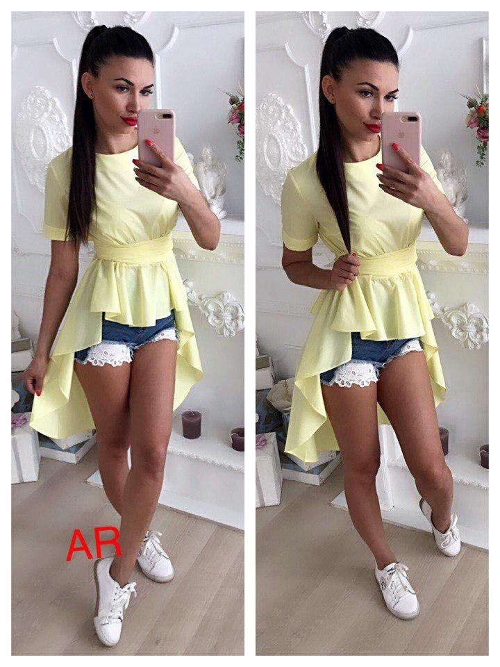 910b65e4740 Купить Женскую рубашку - тунику - ассиметрию
