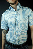 Тенниска, рубашка мужская с коротким рукавом
