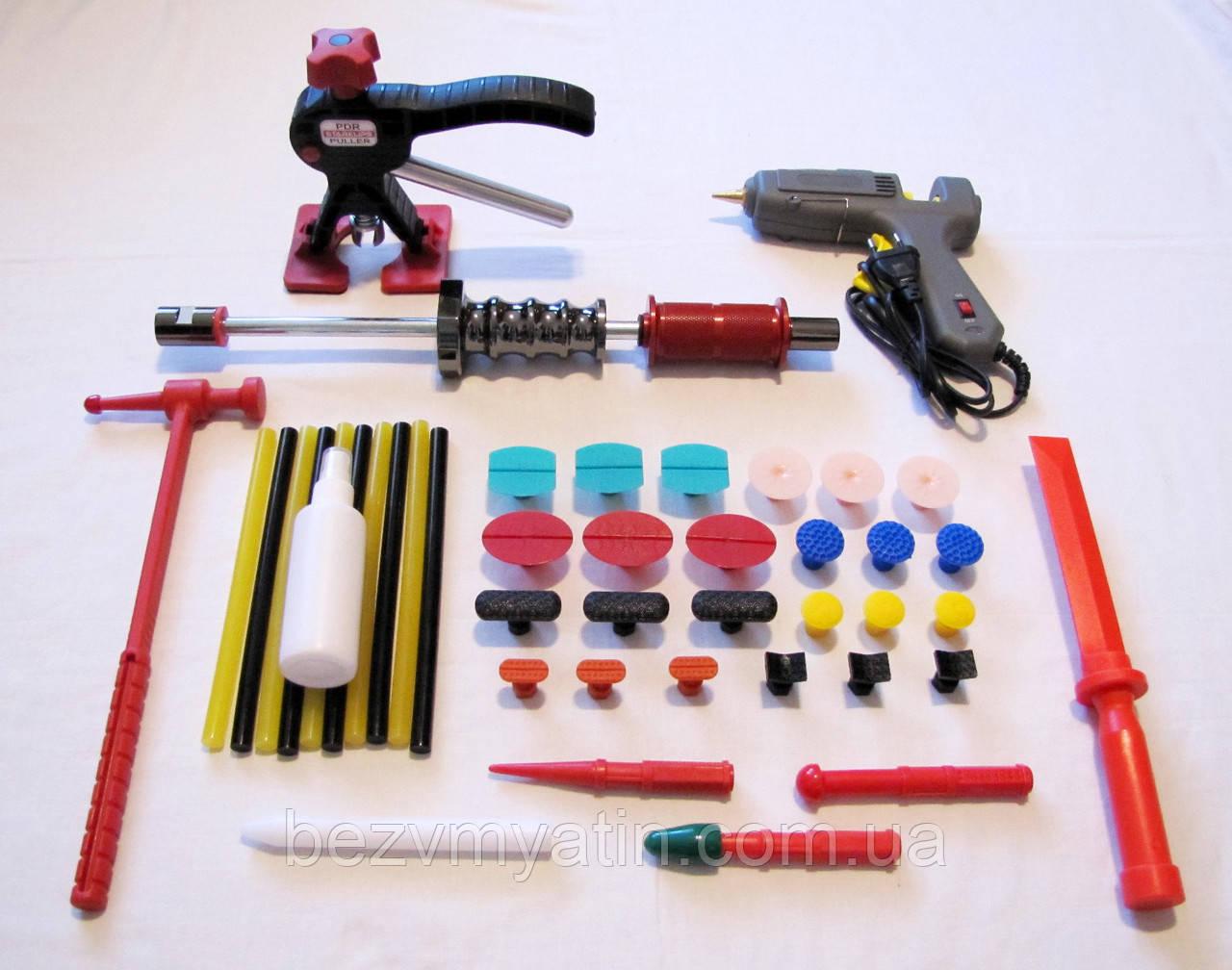 Инструмент PDR для ремонта вмятин без покраски, Клеевая система SK FULL Set Pro