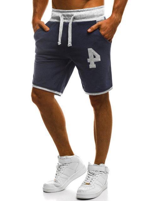 Мужские шорты Mechanich Blue ( в стиле Механик )