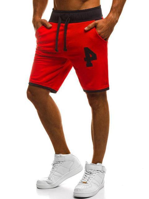 Мужские шорты Mechanich Red ( в стиле Механик )