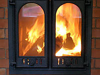 Каминные дверцы, дверцы для камина Киев, печные дверцы. чугунные дверцы, фото 1
