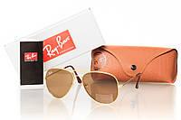 Солнезащитные очки реплика RAY BAN AVIATOR  3026BR_G