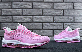 "Женские кроссовки Nike Air Max 97 ""Pink/White"" Рефлективные, фото 3"