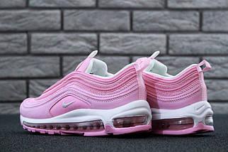 "Женские кроссовки Nike Air Max 97 ""Pink/White"" Рефлективные, фото 2"