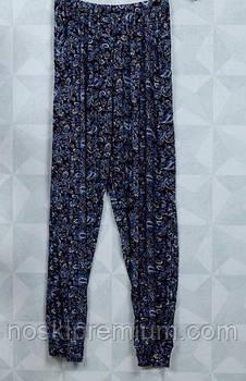 Cултанки женские цветные бамбук Алия, с карманами, размер 48-54, 9503
