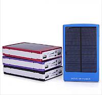 Устройство для зарядки цифровой техники от солнца 30000мач, универсальное, 4 переходника в комплекте, usb-шнур