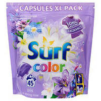Surf Color Ирис капсулы для стирки цветн., 45 шт.