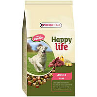Корм Happy Life Adult Lamb (С ягненком) для взрослых собак 15 кг