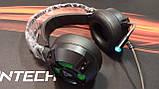 Наушники профессиональные игровые с микрофоном и подсветкой FANTECH HG11 CAPTAIN 7.1, фото 2
