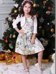 Детское платье на девочку с болеро Размеры 110- 128