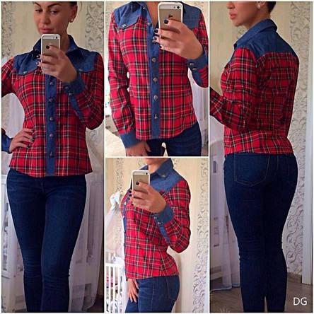 Женская рубашка Хром Хартс , фото 2