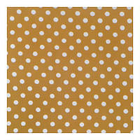 Ткань Коричневая в горошек 012706 v 6