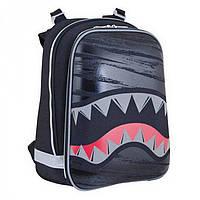 Черный жестко-каркасный ранец Shark 1Вересня арт. 553373