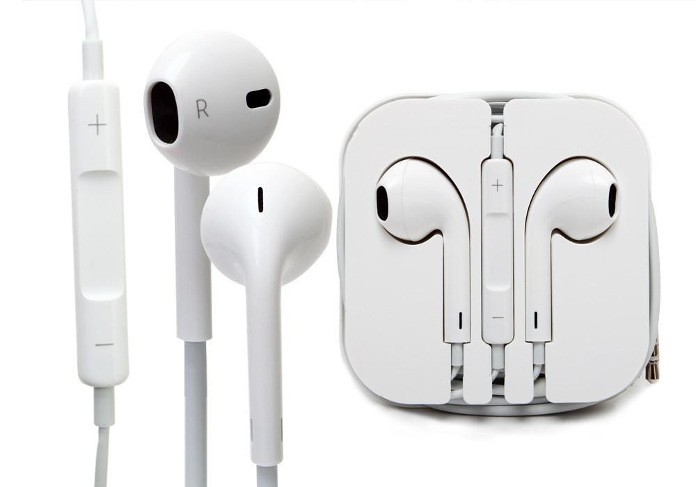 НАУШНИКИ для IPhone Apple EarPods+ПУЛЬТ+КОРОБКА! 26aecad54dddf