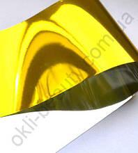 Фольга «Битое стекло» золото  для дизайна ногтей №20