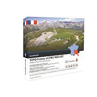 Карта TOPO Garmin Франция V4