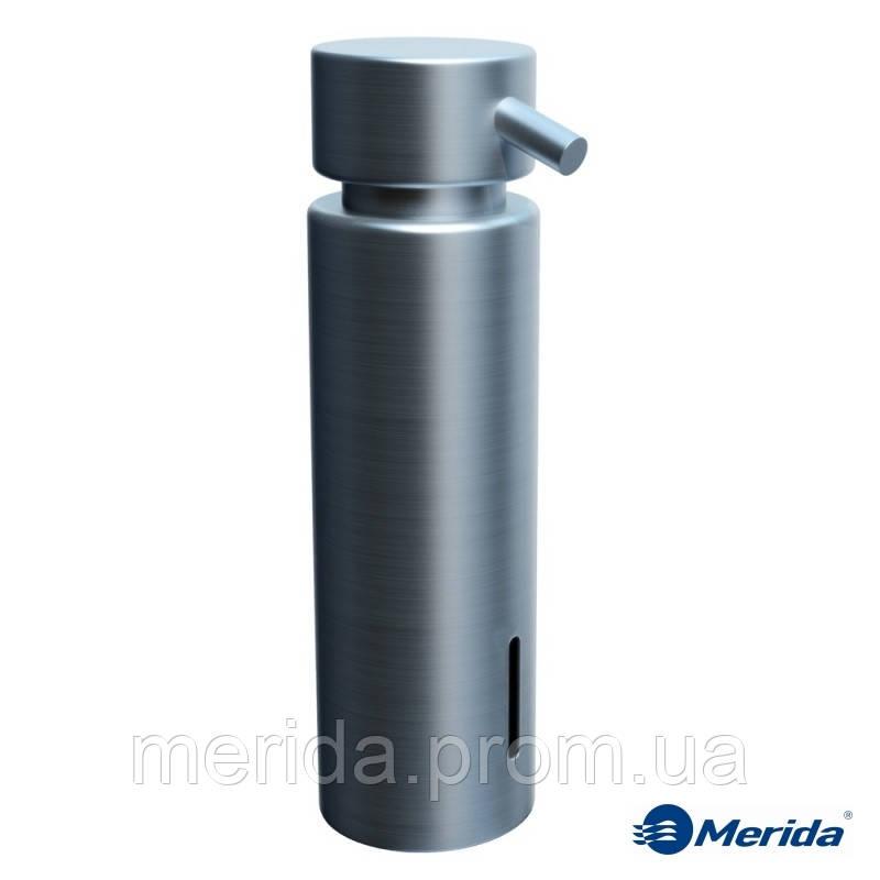 Дозатор жидкого мыла матовый на столешницу из латуни 300 мл. Merida Vip, Нидерланды