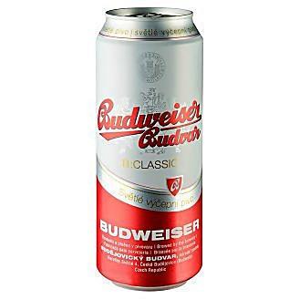 Пиво светлое Budweiser Budwar B.Classik 0.5 л ж\б. Чехия