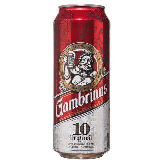 Пиво светлое Gambrinus original 4.3 % 0.5 l ж\б Чехия