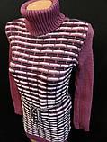 Красивые вязанные туники на зиму., фото 2