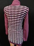 Красивые вязанные туники на зиму., фото 4