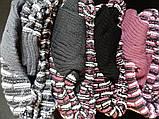 Красивые вязанные туники на зиму., фото 5