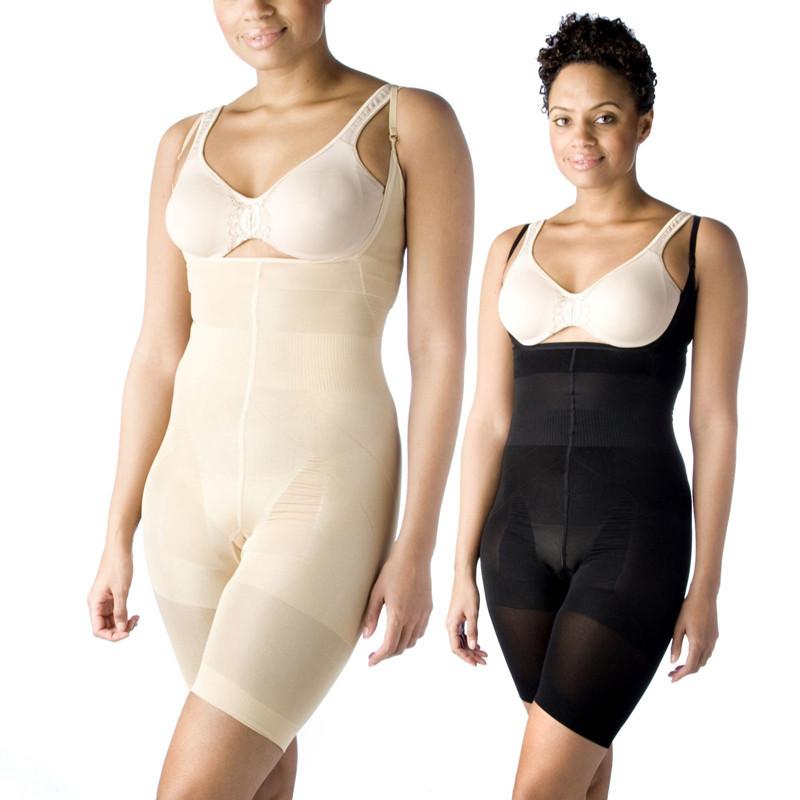 🔝 Комплект утягивающего белья Slim & Lift Supreme | в комплекте 2 шт. (чёрный+бежевый) ХХХL | 🎁%🚚