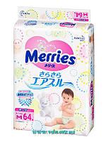 Подгузники Merries  M (6-11 кг) 64шт