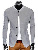 Мужской Пиджак P84 M, Серый