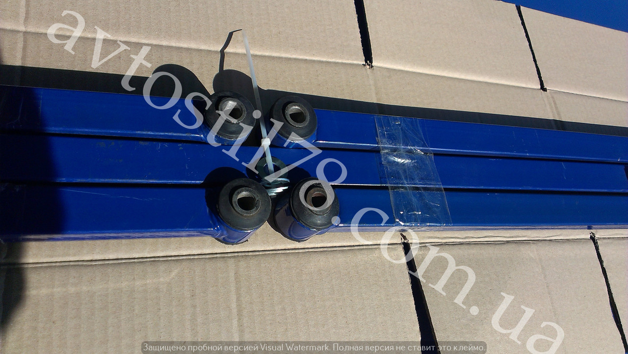 Тяга реактивная 2101 квадратные синие (комплект)