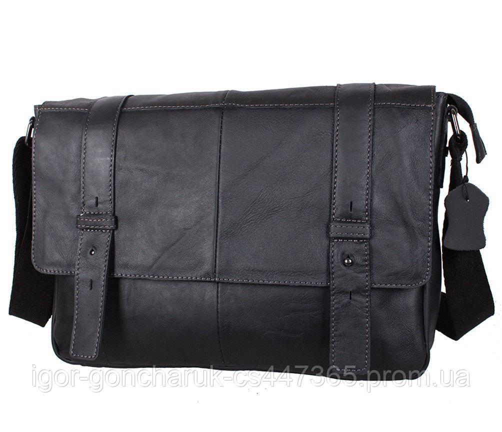 0bebfb0fc1da Мужская кожаная сумка A4 Dovhani PRE1862 Черная: продажа, цена в ...