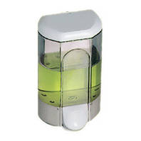 Дозатор мыла жидкого пластик прозрачный Acqualba