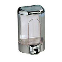 Дозатор мыла жидкого пластик хром 0,17л Acqulba