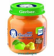 Пюре Gerber Яблоко и груша 130г с 4мес