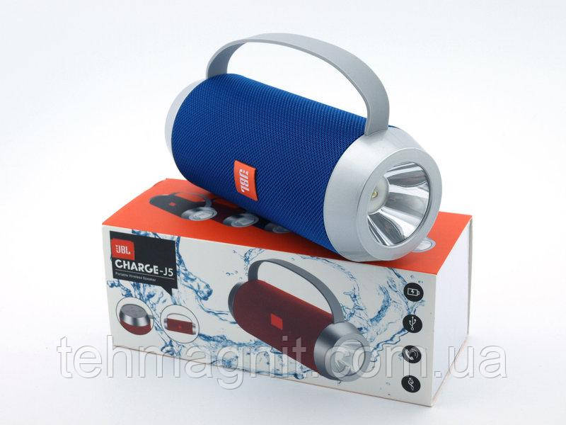 Беспроводная колонка копия 5W  с LED фонариком и FM/Bluetooth/MP3/USB/microSD ( Реплика )
