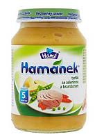 Пюре Hame Hamanek Тунец с овощами и картофелем 190 г с 7мес