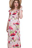 Сарафан с цветами №435