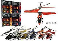 Вертолет аккум. 3-х канальный, зарядка от USB   (ОПТОМ) 33008